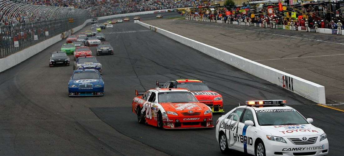 Nascar racing is very popular in the summer and fall months in New Hampshire.