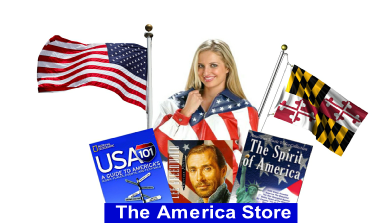 The America Store, Flags, Books, Videos, Patriotic Clothing, Flag Pins and more!