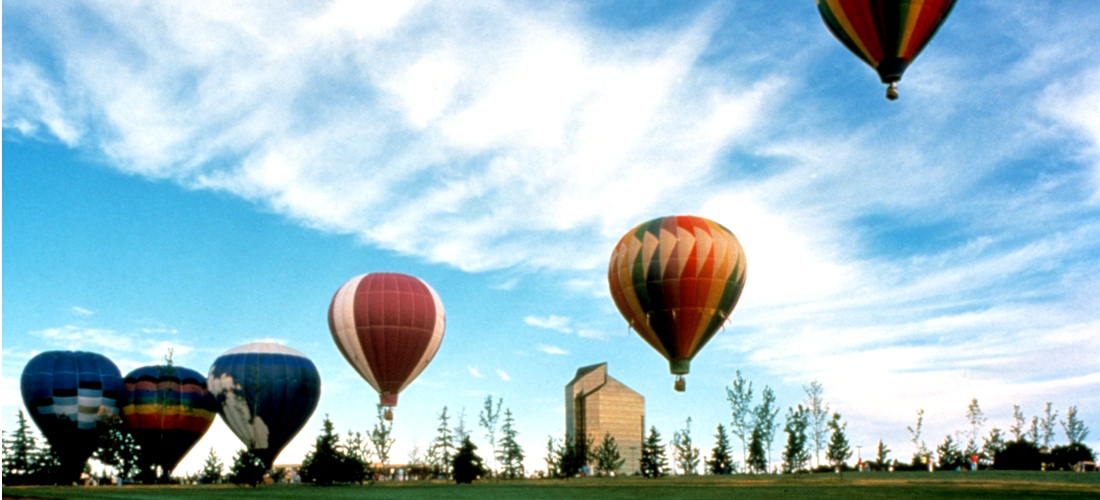 Ballooning over Grand Traverse